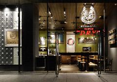 """店内イメージ_BEER&SPICE SUPER""""DRY""""KITTE丸の内店"""